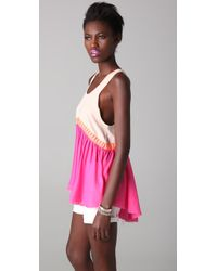 Sass & Bide | Pink Raw Appeal Tank | Lyst