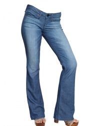 True Religion | Blue Stretch Denim Flared Leg Bobby Jeans | Lyst