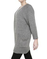 Twenty8Twelve - Gray Soft Knit Cardigan Sweater - Lyst