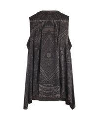 AllSaints   Black Ritual Vest   Lyst