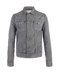 AllSaints - Gray Slurry Jacket for Men - Lyst