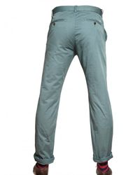 Closed - Blue 18cm Light Cotton Twill Chino Trousers for Men - Lyst