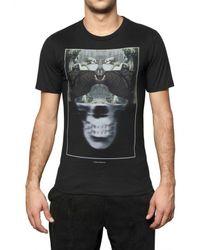 Dead Meat | Black Skull Printed Jersey T-shirt for Men | Lyst