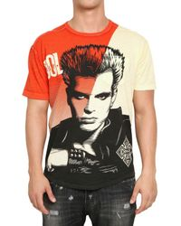 Dolce & Gabbana | Multicolor Billy Idol Printed Jersey T-shirt for Men | Lyst