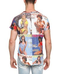 Dolce & Gabbana | Multicolor Penthouse Cover Printed Jersey T-shirt for Men | Lyst