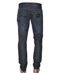 Dolce & Gabbana - Blue 19cm Gold Fit Raw Denim Jeans for Men - Lyst