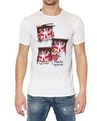 Dolce & Gabbana | White Freddy Mercury Printed Jersey T-shirt for Men | Lyst