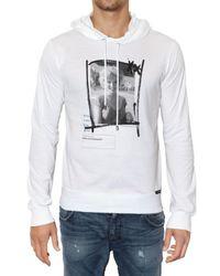 Dolce & Gabbana | White Marylin Monroe Hooded Jersey Sweatshirt for Men | Lyst