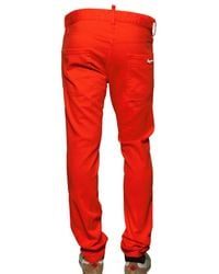 DSquared² | Orange 16,5cm Stretch Denim Cool Guy Jeans for Men | Lyst
