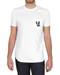 DSquared² | White Dog Logo T-shirt for Men | Lyst