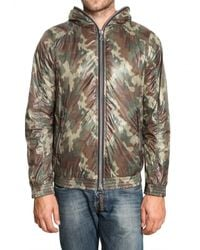 Duvetica - Green Camouflage Matt Nylon Alete Sport Jacket for Men - Lyst