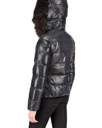 Duvetica | Gray Adhara Fur Down Jacket | Lyst