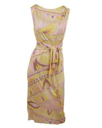 Emilio Pucci | Yellow Dress | Lyst