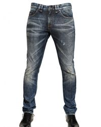 John Galliano | Blue 17,5cm Super Skinny Fit Denim Jeans for Men | Lyst