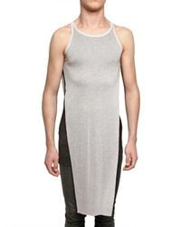 Gareth Pugh | White Tabard Top for Men | Lyst