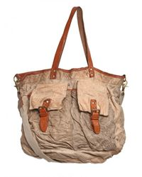 Giorgio Brato | Natural Washed Vintage Weekend Bag for Men | Lyst