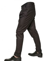 Givenchy - Black Drop Crotch Pant for Men - Lyst