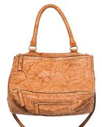 Givenchy | Orange Pandora Medium Leather Shoulder Bag | Lyst
