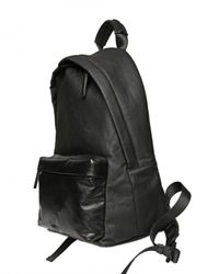 Givenchy | Black Waxed Canvas Leather Pocket Backpack for Men | Lyst