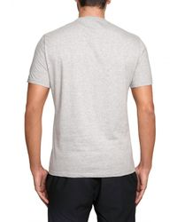 Iceberg - Gray Felix Printed Jersey T-shirt for Men - Lyst