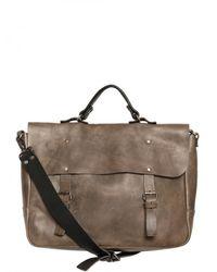 Iceberg | Gray Horse Leather Bag for Men | Lyst