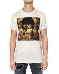 John Richmond | White David Bowie Jersey T-shirt for Men | Lyst