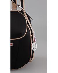 Juicy Couture   Black Eleanor Neoprene Bag   Lyst