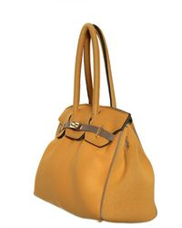 Leghilà | Yellow B-bag Large Neoprene Top Handle | Lyst