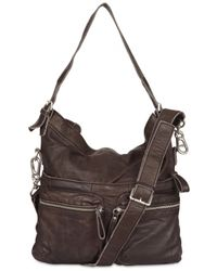 Liebeskind | Brown Soft Leather Shoulder Bag | Lyst