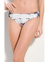 Lucky Brand | White Love Child Tie Dye Bottom | Lyst