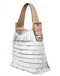 Marc Jacobs | White Victoria Fringed Leather Shoulder Bag | Lyst