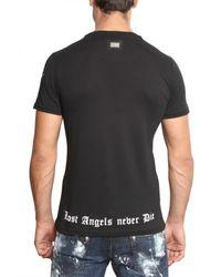 Philipp Plein   Black Mickey Mouse Swarovski Jersey T-shirt for Men   Lyst