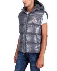 Pyrenex | Gray Sleeveless Nylon Laque Down Jacket for Men | Lyst