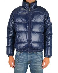 Pyrenex | Blue Mythic Quilted Nylon Down Jacket for Men | Lyst