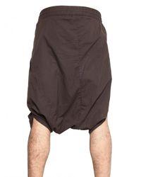 Silent - Damir Doma - Purple Cotton Poplin Sarong Shorts for Men - Lyst