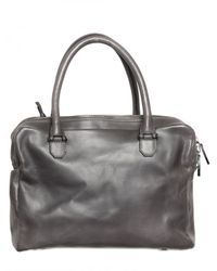 A Brand Apart - Gray Buffalo Leather Bag for Men - Lyst