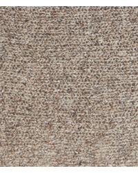 AllSaints - Brown Takizen Nep Jumper - Lyst