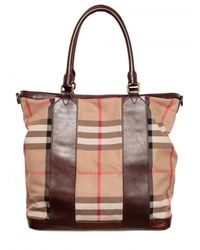 Burberry | Brown Blarney Tote Bag for Men | Lyst