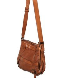 Burberry - Brown Pasmore Leather Shoulder Bag - Lyst
