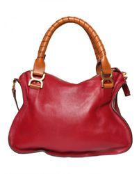 Chloé | Red Marcie Medium Top Handle | Lyst
