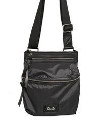Dolce & Gabbana | Black Nylon Flat Shoulder Bag for Men | Lyst