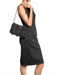 Dolce & Gabbana - Black Miss Cleo Clutch - Lyst