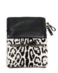 Dolce & Gabbana | Black Nappa & Ponyskin Miss Hope Shoulder Bag | Lyst