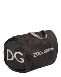 Dolce & Gabbana | White Metal Plaquet Calf Sneakers for Men | Lyst