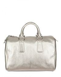 Ferragamo | White Isabel Top Handle | Lyst