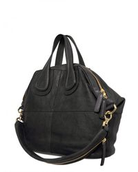 Givenchy - Black Nightingale Medium Smooth Top Handle - Lyst