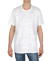 Givenchy - White Uno De Nosotros Printed Jersey T-shirt for Men - Lyst