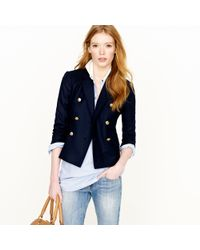 J.Crew | Blue Double-breasted Ivy Blazer | Lyst