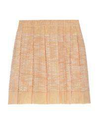 J.Crew | Pink Revele Pleated Organza Skirt | Lyst
