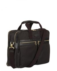 Mulberry | Black Henry Overnight Nylon Briefcase Bag for Men | Lyst